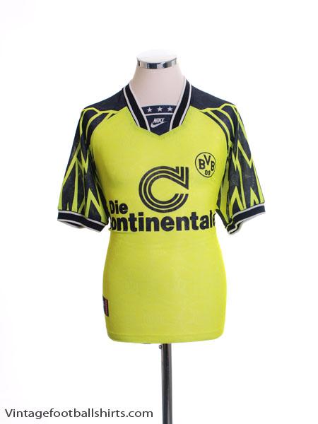 1994-95 Borussia Dortmund Home Shirt S