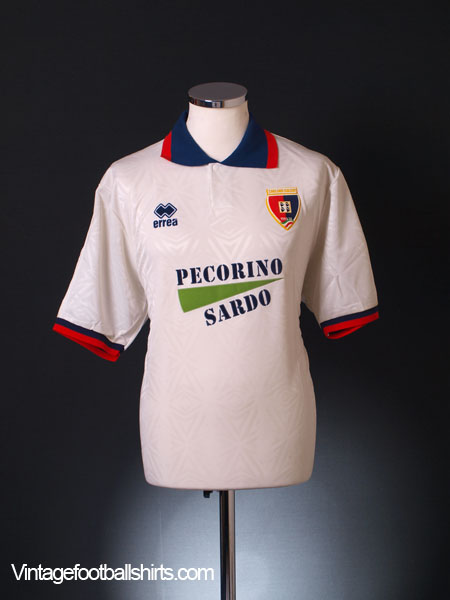 1994-95 Cagliari Away Shirt *As New* XL