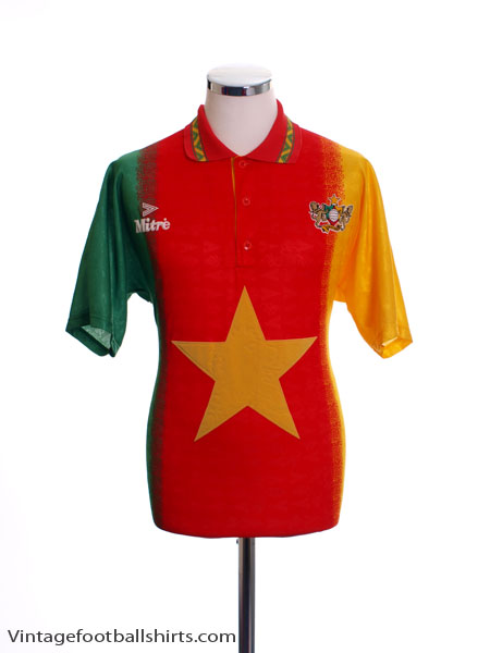 1994-95 Cameroon Home Shirt M