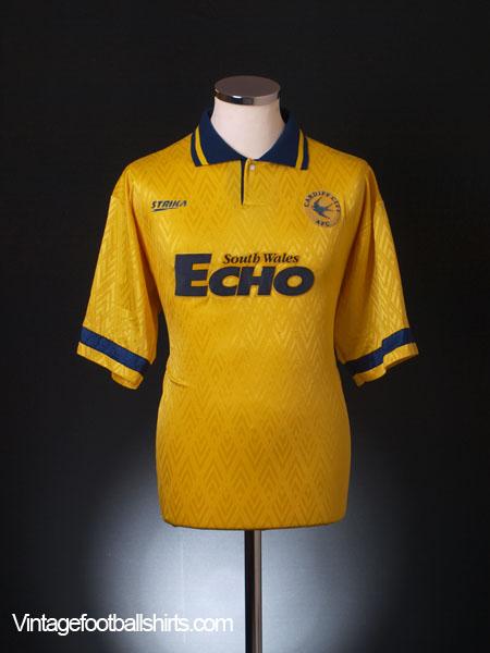 1994-95 Cardiff Away Shirt M