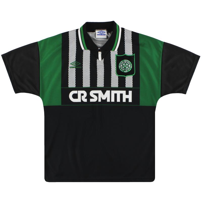 1994-95 Celtic Umbro Away Shirt L