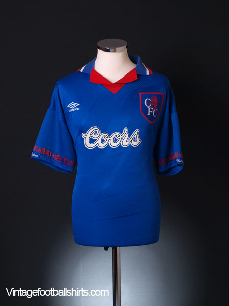 1994-95 Chelsea Home Shirt XXL