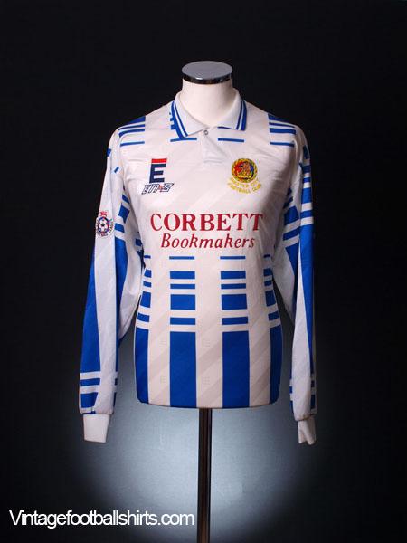 1994-95 Chester City Match Worn Home Shirt #4 L/S XL