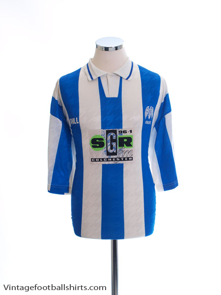 1994-95 Colchester Home Shirt L