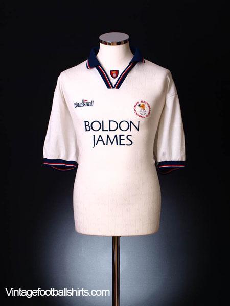 1994-95 Crewe Alexandra Away Shirt XXL