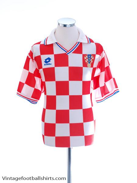 1994-95 Croatia Basic Home Shirt XL