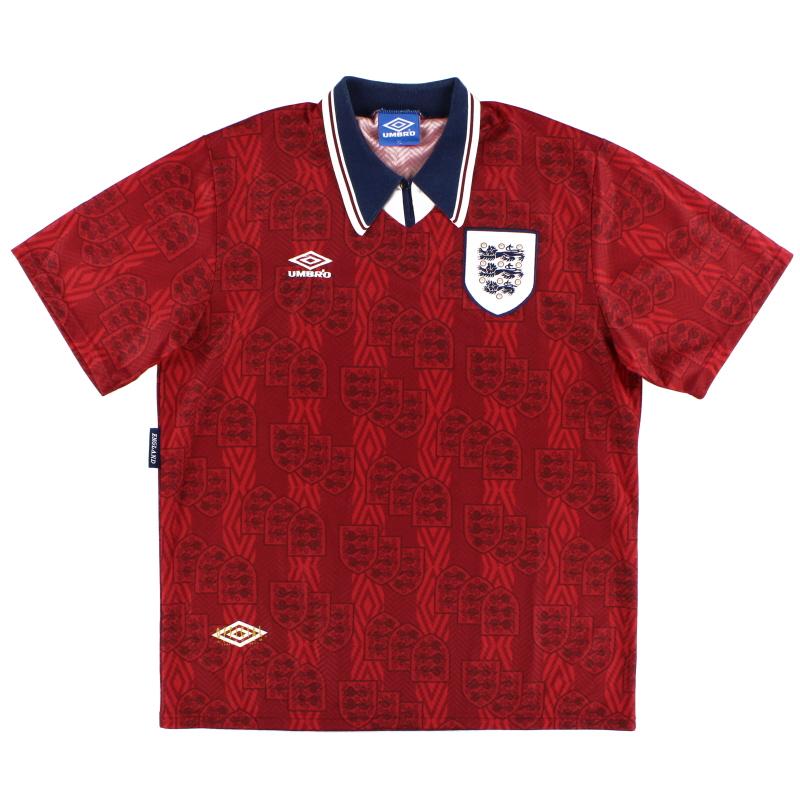 1994-95 England Away Shirt XL