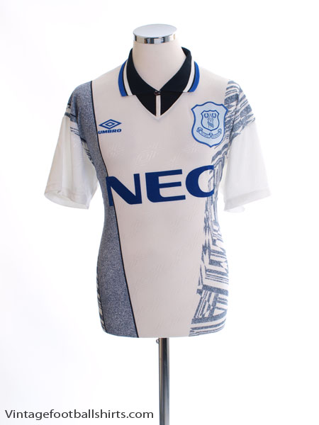 1994-95 Everton Away Shirt L