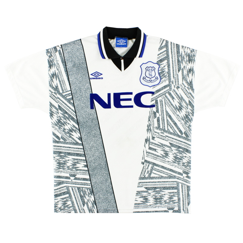 1994-95 Everton Away Shirt *Mint* XL