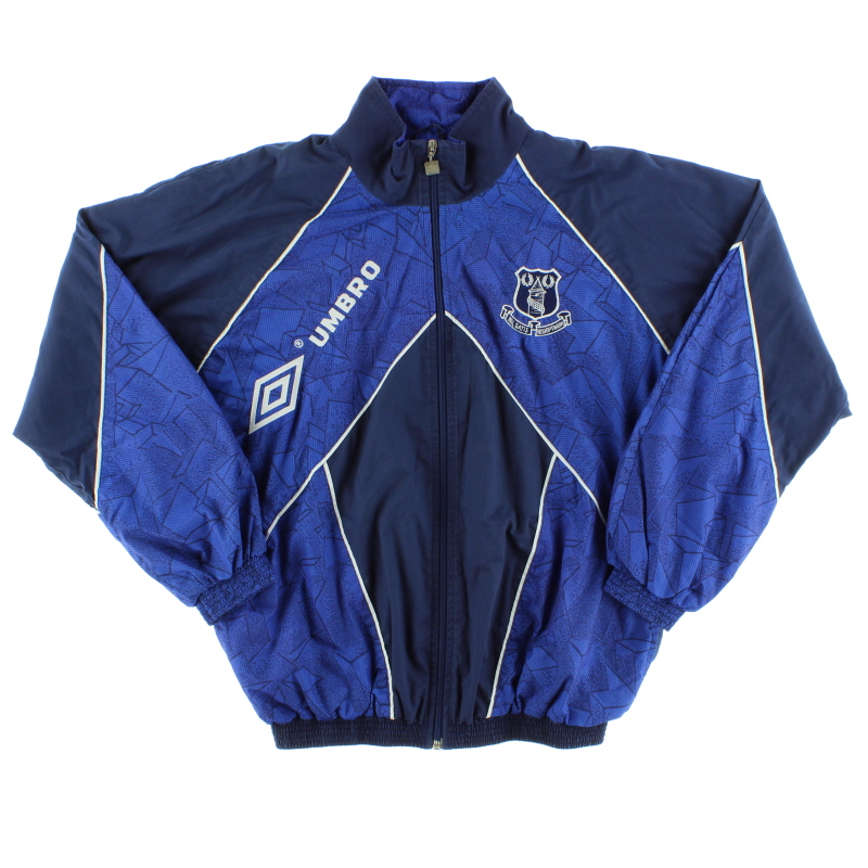 1994-95 Everton Umbro Track Jacket *Mint* M