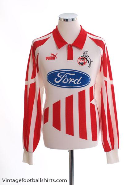 1994-95 FC Koln Home Shirt L/S XL