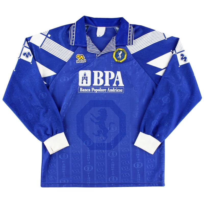 1994-95 Fidelis Andria Home Shirt L/S L