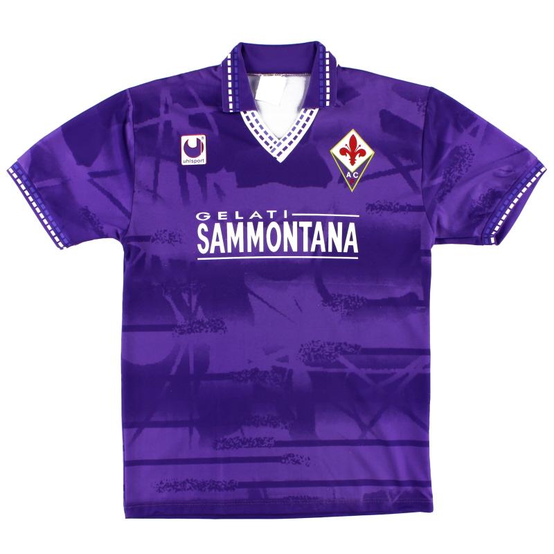 1994-95 Fiorentina Home Shirt L