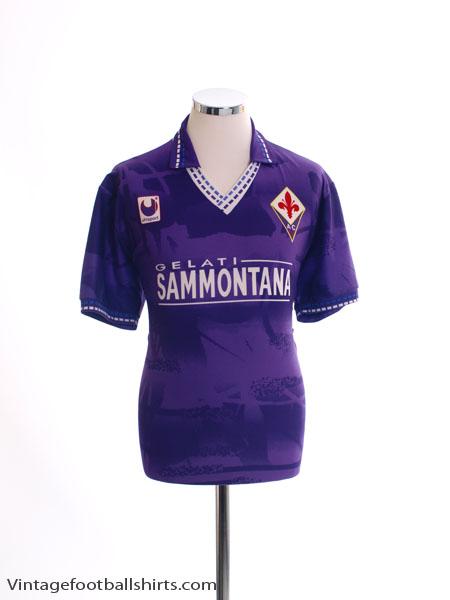 1994-95 Fiorentina Home Shirt M