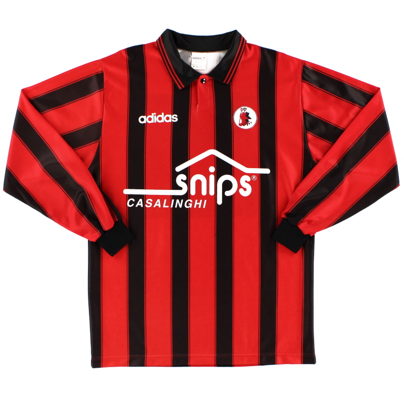 1994-95 Foggia Match Issue Home Shirt #2 L/S XL