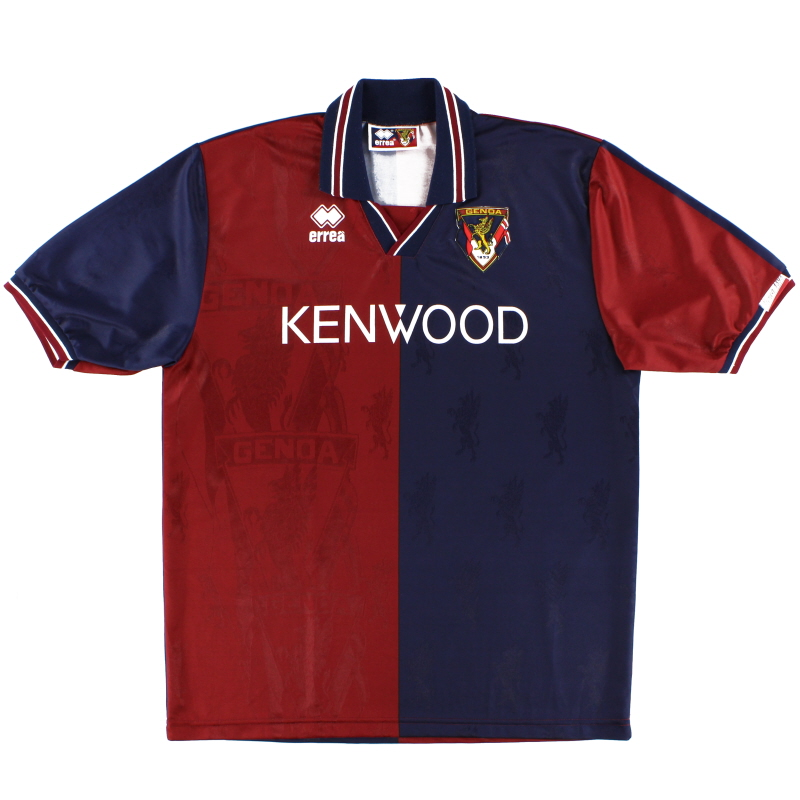 1994-95 Genoa Home Shirt *Mint* XL