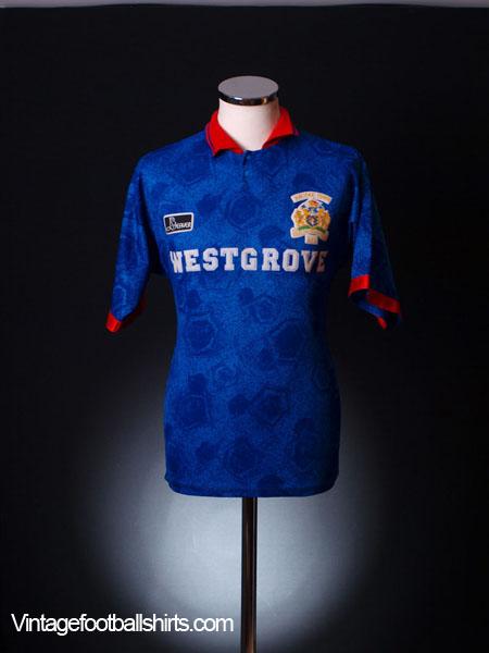 1994-95 Halifax Town Home Shirt *Mint* XXL
