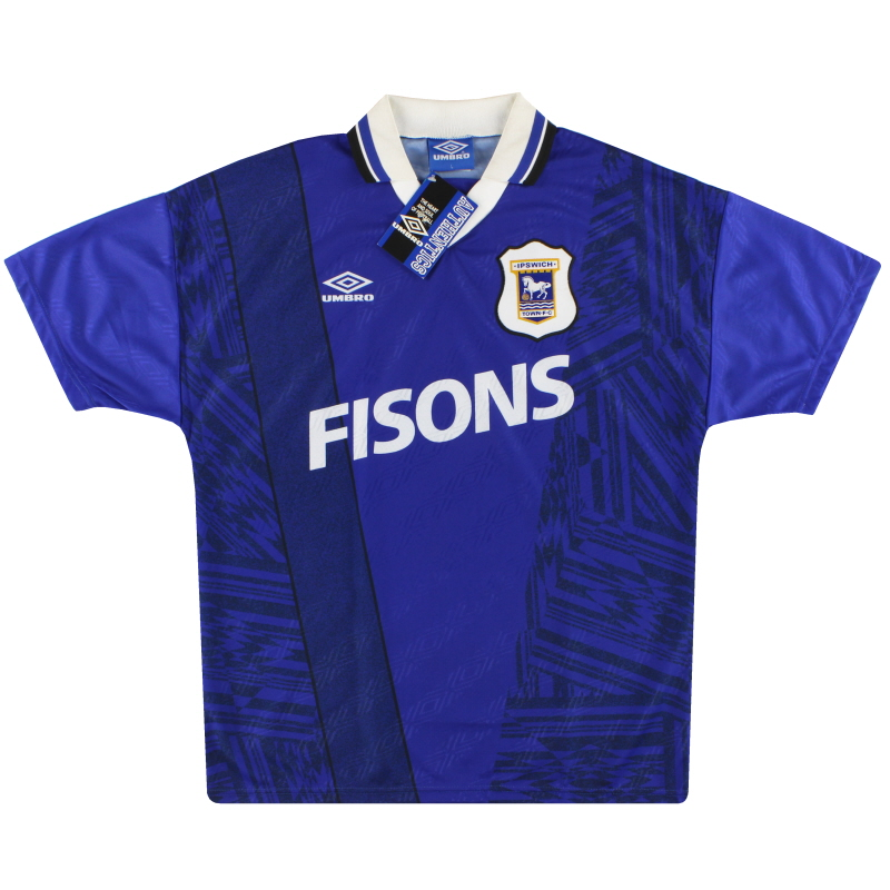 1994-95 Ipswich Umbro Home Shirt *w/tags* L