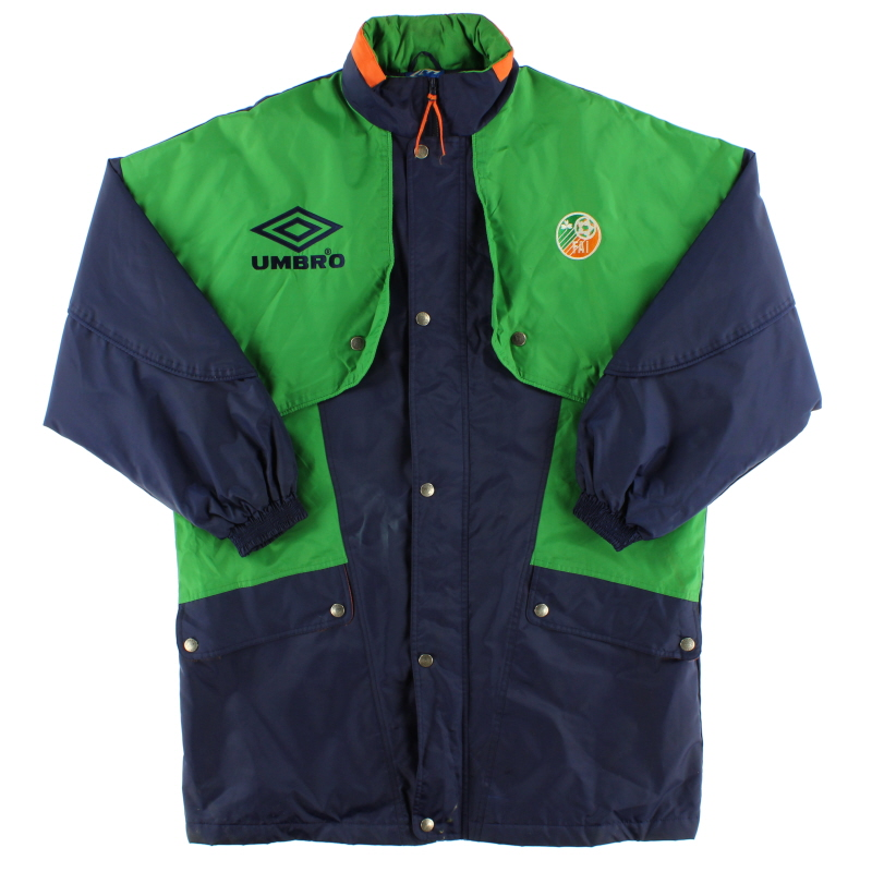 1994-95 Ireland Umbro Bench Coat L