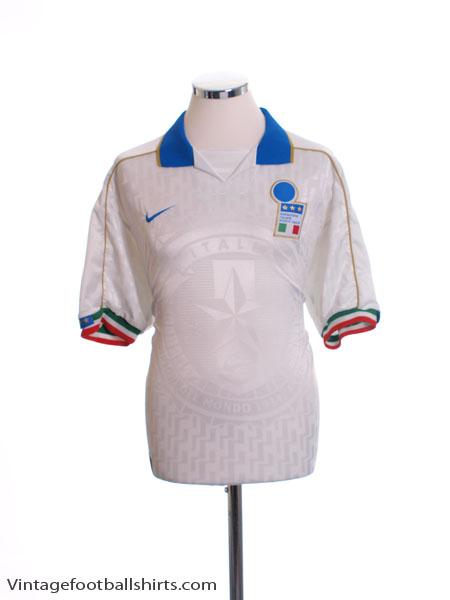 1994-95 Italy Away Shirt L