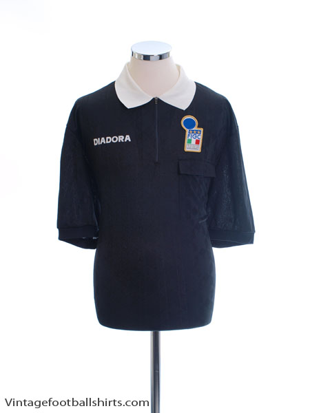 1994-95 Italy FIGC Referee Shirt XL
