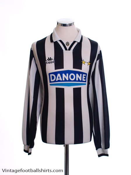 1994-95 Juventus Home Shirt L/S L