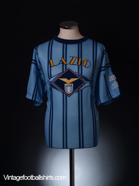 1994-95 Lazio Training Shirt *BNIB* M