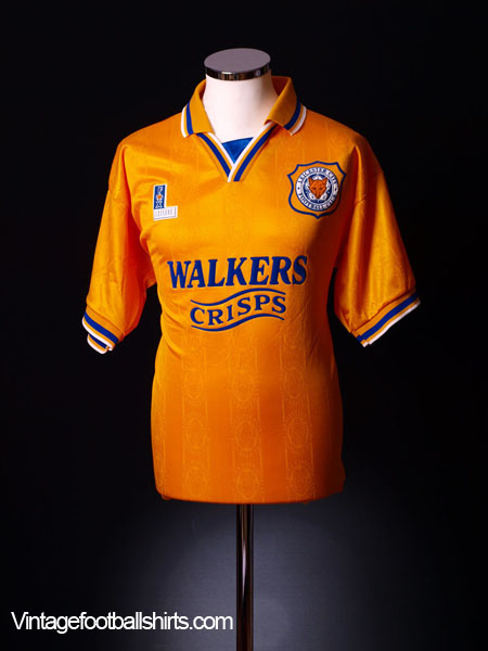 1994-95 Leicester Away Shirt XL