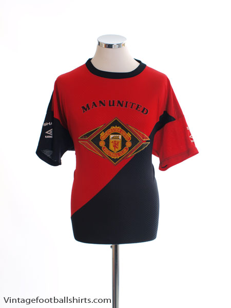 1994-95 Manchester United Training Shirt L