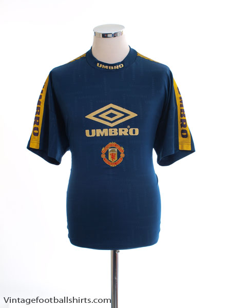 ccea8b48ea4 1994-95 Manchester United Training Shirt M for sale