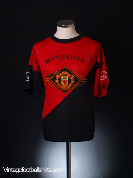 1994-95 Manchester United Umbro Training Shirt XL
