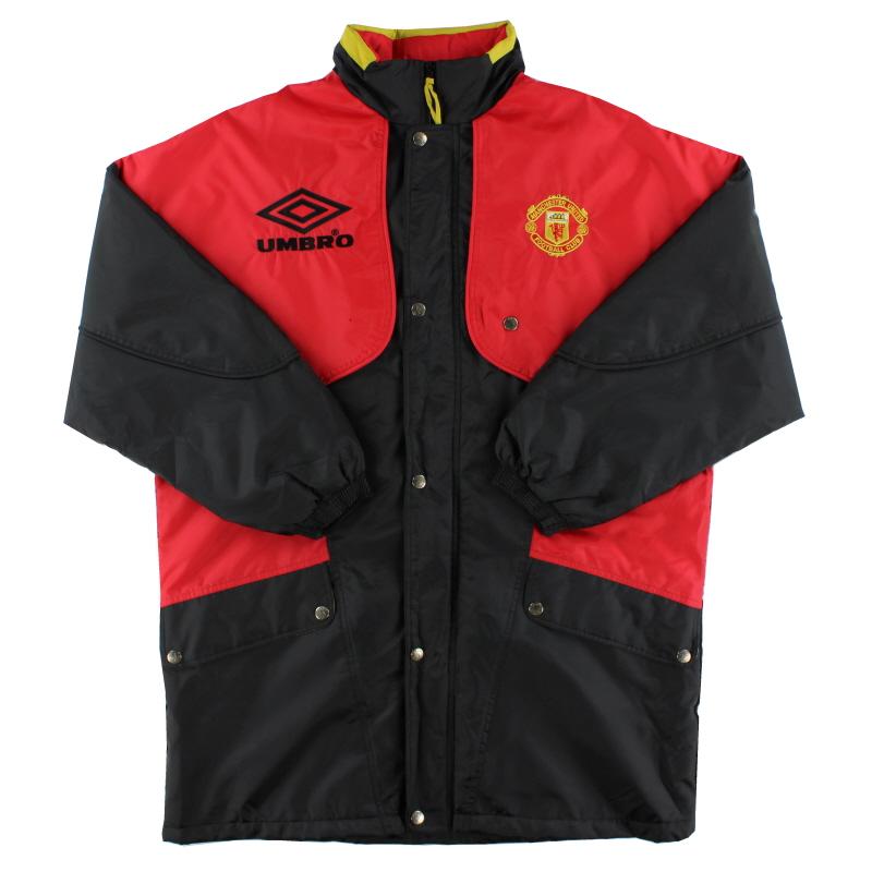 1994-95 Manchester United Umbro Bench Coat XL