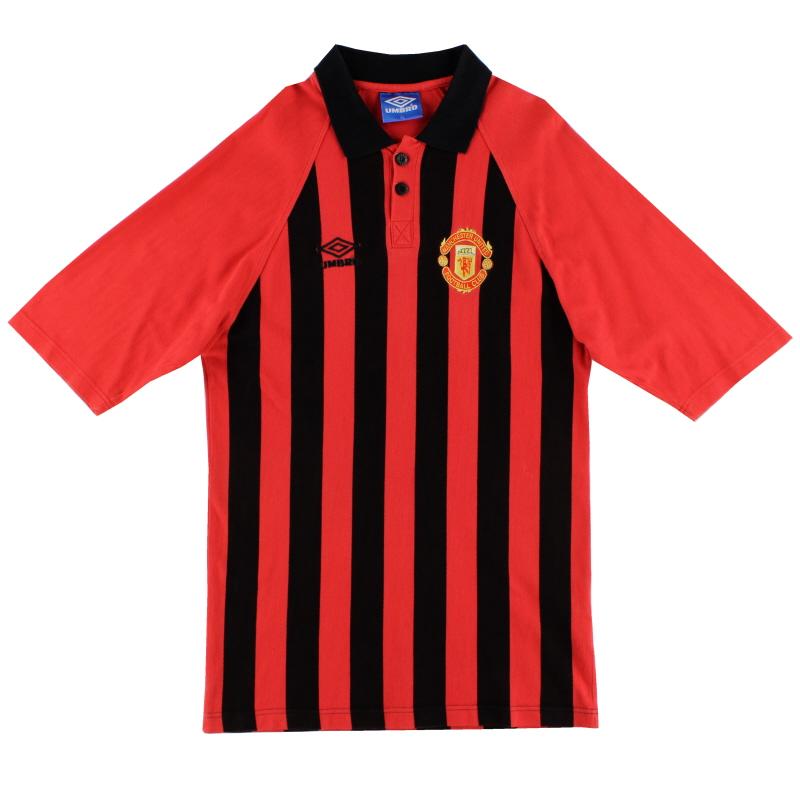 1994-95 Manchester United Umbro Polo Shirt XL