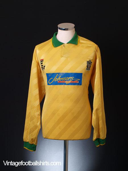 1994-95 Marine Match Worn Away Shirt #7 L/S XL