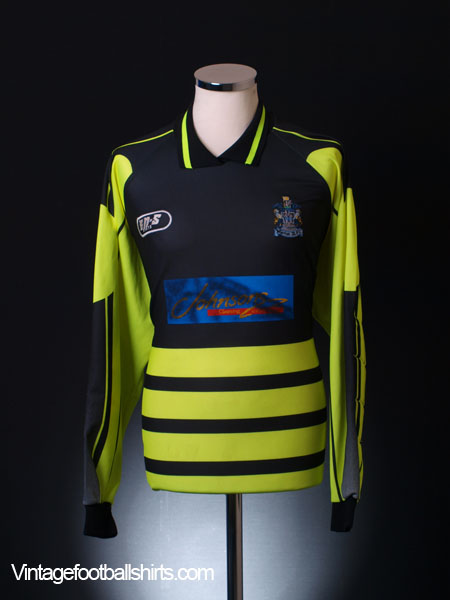 1994-95 Marine Match Worn Goalkeeper Shirt #17 L/S XL