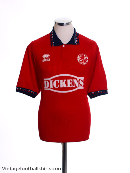 1994-95 Middlesbrough Home Shirt *Mint* L