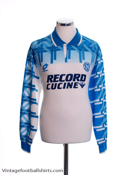 1994-95 Napoli Away Shirt L/S L
