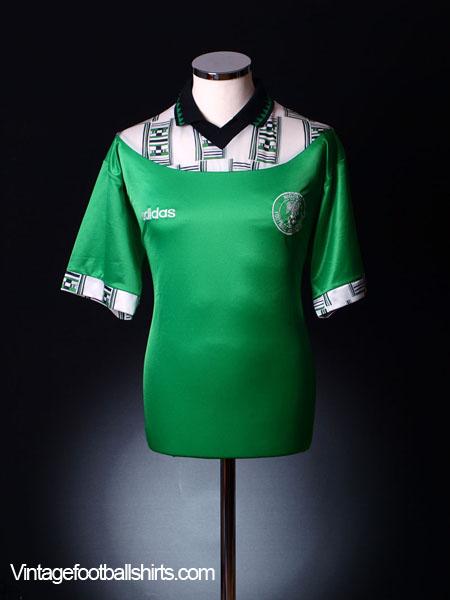 1994 95 Nigeria Home Shirt L For Sale