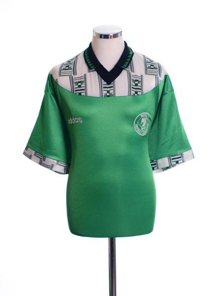 1994-95 Nigeria Home Shirt XL