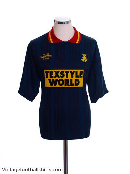 1994-95 Partick Thistle Away Shirt *Mint* L