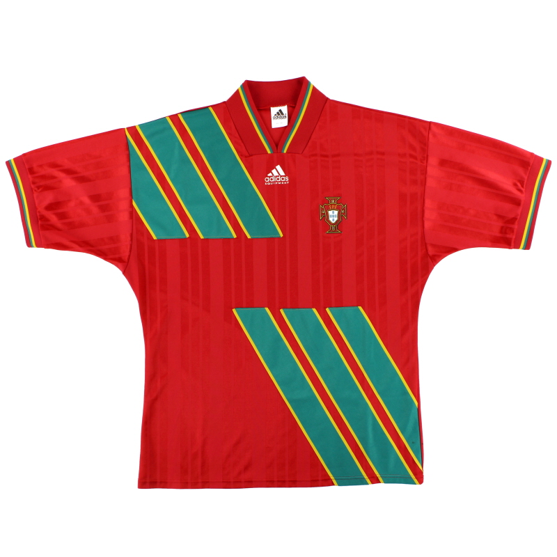 1994-95 Portugal adidas Home Shirt L/XL