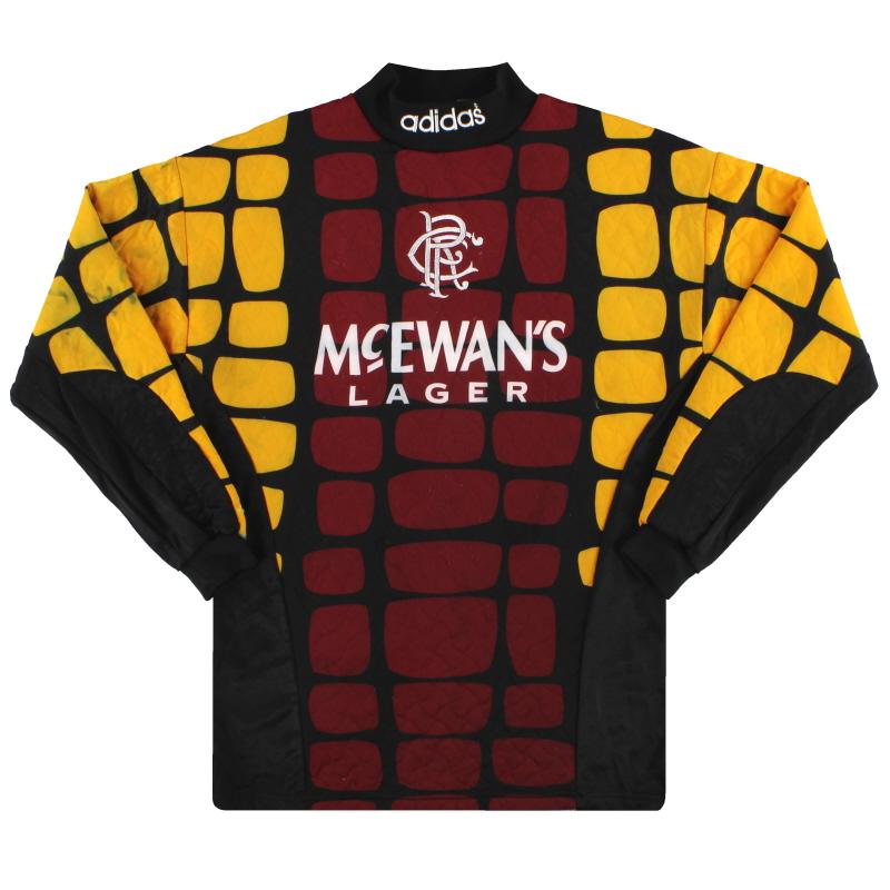 1994-95 Rangers adidas Goalkeeper Shirt S