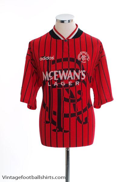 1994-95 Rangers Away Shirt L