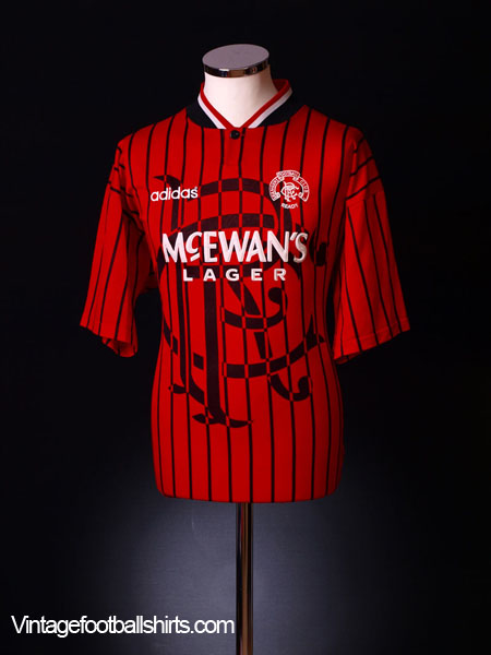 1994-95 Rangers Away Shirt L