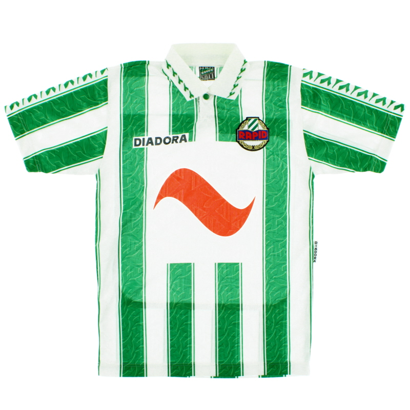 1994-95 Rapid Vienna Home Shirt XS