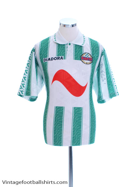 1994-95 Rapid Vienna 'Signed' Home Shirt L