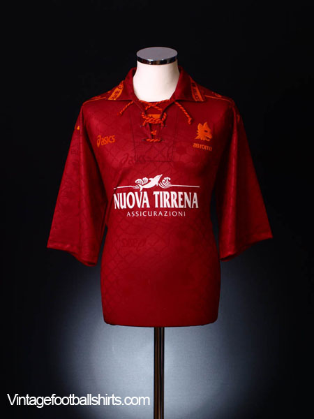 1994-95 Roma Home Shirt XL