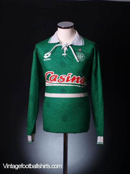 1994-95 Saint Etienne Home Shirt L/S XL