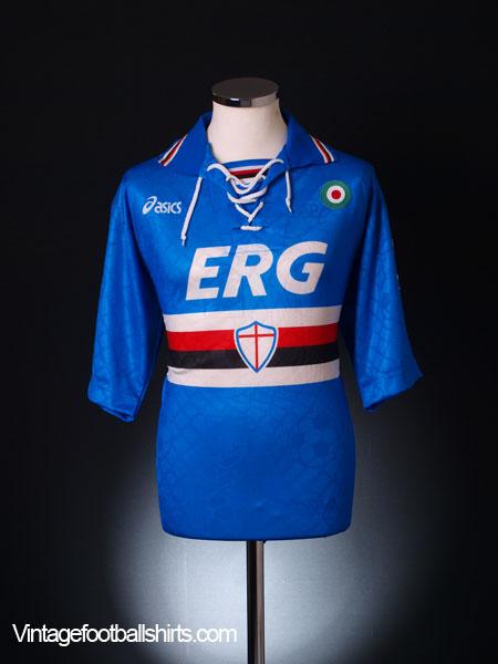 1994-95 Sampdoria Home Shirt L