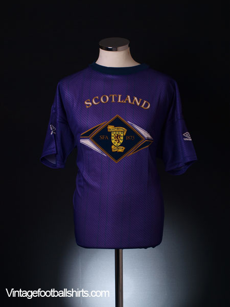 1994-95 Scotland Training Shirt *BNIB* M